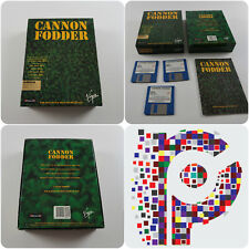 Cannon Fodder A Sensible Software Game for the Commodore Amiga tested & working