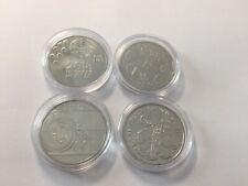 4 Monedas PORTUGAL de  2,5 EUROS c/u , 2011-2013-2015-2018 SIN CIRCULAR  coins .