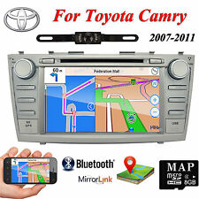 In Dash Car DVD GPS Player Navigation Radio Stereo Touch Screen For Toyota Camry