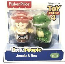 Toy Story 4 Cowgirl Jessie & Rex Little People Disney Pixar