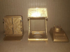 1976 Miniature Durham Metal Kitchen Cabinet Coffeemaker Mixer Parts #1, #2, #12