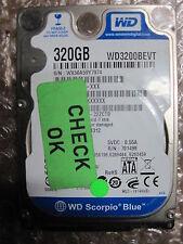 Western Digital Scorpio Blue 320gb, WD 3200 bevt, portátil HDD disco duro | p011
