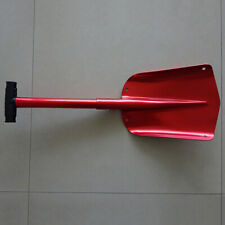 Detachable Telescopic Shovel,Camping Shovel,Snow Shovel (Red)