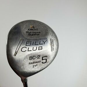 "KNIGHT BILLY CLUB BC-2 21*  5 Wood Left Handed Litespeed 2 Graphite ~ 42"" LH"