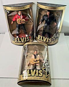 Lot Of 3 Elvis Presley Teen Idol, Jailhouse Rock, and 68 Special Dolls Hasbro