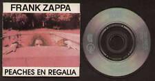 "MINI CD 3"" ZAPPA PEACHES EN REGALIA / I'M NOT SATISFIED / LUCILLE HAS MESSED..."