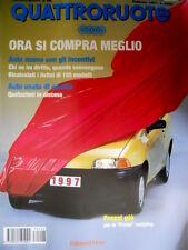 Quattroruote 496 1997 Punto restyling. Mercedes SLK 230 - Porsche Boxster [Q90]