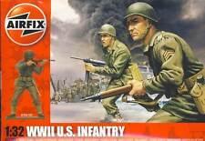 Airfix 14 Soldados U. S. Infantería Infantería Ee.uu. Figuras Diorama 1 :3 2 Kit