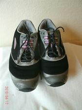 Mbt Black Silver Pink  And White Athletic Inspited  Lace Up Shoes Shoe 8