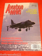 AVIATION NEWS - SEA HARRIER F-A.2 WORK-UP - MAY 6 1995