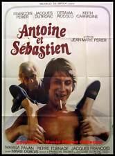 ANTOINE ET SEBASTIEN - Dutronc - Périer - AFFICHE 120x160 / 47x63 FRENCH POSTER