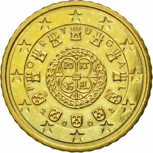 [#582230] Portugal, 50 Euro Cent, 2002, SUP, Laiton, KM:745