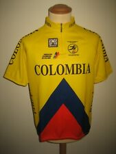 Colombia federacion Colombiana cycling jersey shirt camiseta size 52, XXL