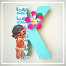 Moana Theme Letter/ number Birthday Party Decoration 1 2 Centrepiece Maui