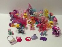 My Little Pony MLP Lot of 26 Ponies plus Misc Accessories LOT C