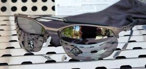 New Oakley WIRETAP 2.0 4145-0260 Sunglasses Matte Gunmetal w/ Prizm Black Lenses