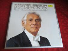 8LP Box BERNSTEIN Beethoven 9 Symphonien DGG