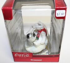 Coke with a Little Friend Christmas Ornament Coca Cola Collectible