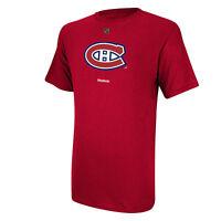 Montreal Canadiens Reebok NHL Primary Logo Men Men T Shirt Red