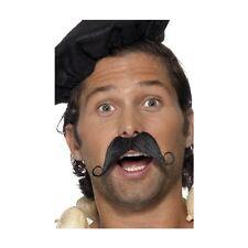 Men's Fancy Dress Frenchman Moustache Waiter Allo Allo Stag TV Fun Accessory