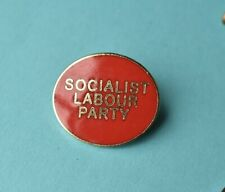 New Labour Socialist Party pin  badge Political / union  collectable