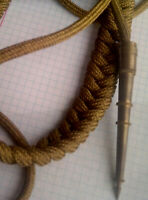 Authetic Soviet military Parade OFFICER's aiguillette aglet  Russia USSR