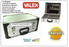 Valigia Con Portautensili  VALIGETTA MARCA VALEX alluminio con rinforzi