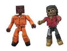 The Walking Dead Minimates Series 3 Dexter and Dreadlock Zombie Action Figure