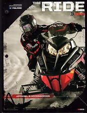 2014 POLARIS SNOWMOBILE APPAREL & ACCESSORIES SALES CATALOG BROCHURE (816)