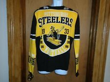 Pittsburgh Steelers Steely McBeam Team Apparel Men's Christmas Sweater M NWT