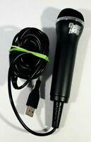 Official Guitar Hero USB Microphone E-UR20 for Xbox 360 PS3 Wii Red Octane Mic