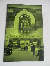 1932 SAVILLE THEATRE TELL HER THE TRUTH PROGRAMME WITH SUPERB PERIOD ADVERTS