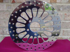 11.5 DNA POLISHED SUPER SPOKE FRONT BRAKE ROTOR PARTS FOR HARLEY 2000 & UP