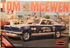 Polar Lights Mongoose McEwen Barracuda Funny Car, New, (2017) Factory Sealed Box