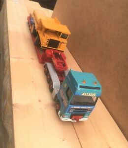 Corgi 1/50 Allely's DAF XF Space Cab with 3 Axle Low Loader Trailer with Load