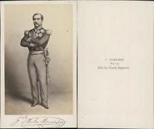 Général de Lamoricière CDV vintage albumen. Christophe Louis Léon Juchault de