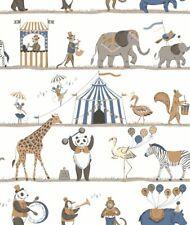 Essener Tapete Just 4 Kids 2 G56546 Zirkus Tiere Elefant Affe Bär Kindertapete