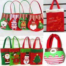 Joyeux Noël Père Bonhomme de neige sac cadeau mariage fête bonbon Décor