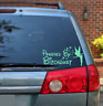 Powered by Bitch Dust vinyl decal sticker, funny window, tinkerbell Made in USA