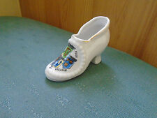 RARE THE FOUR PROVINCES OF IRELAND CREST - SHOE OR BOOT - CRESTED CHINA