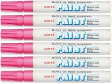 Uni-Paint 63611 PX-20 Oil-Based Permanent Marker, Medium Line, Pink, 6-Pack