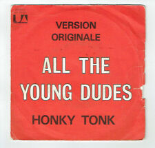"""HONKY TONK Vinyl 45T 7"""" ALL THE YOUNG DUDES -PEAR ON YEAR APPLE TREE UA 35422"""