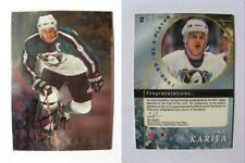 1998-99 BaP Signature Series #2 Paul Kariya SSP autograph SP auto RARE