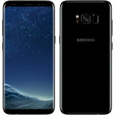Nuevo Samsung Galaxy S8 Midnight Negro SM-G955F LTE 64GB Plus 4G Desbloqueado de fábrica