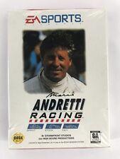 Mario Andretti Racing (Sega Genesis, 1994) New Sealed (Read Description)
