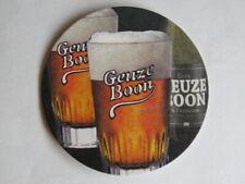 Beer Brewery Coaster ~ Brouwerij F. Boon Oude Geuze Bier ~ Lembeek, BELGIUM