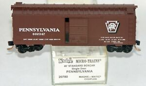 KD 20780 Pennsylvania RR 40' Box Car Shadowed Keystone #602347 inventory  # 251
