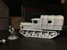 1/56 Soviet Heavy Artillery Tractor Troop 28mm - Komintern Bolt Action