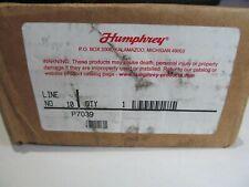 "NEW OPEN BOX HUMPHREY HAND VALVE   P7039   1/4"" PORT"