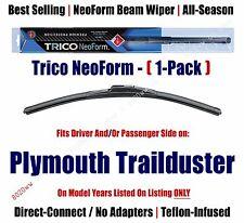 (Qty 1) Premium NeoForm Wiper Blade fits 1974-1981 Plymouth Trailduster 16180